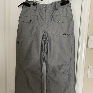 COLUMBIA CNVT BOYS SZ 14/16 SNOWBOARD PANTS GRAY